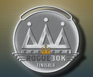 Rogue 30k Medal