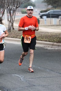 Feeling strong at mile 6