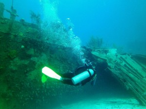 James Bond Wreck